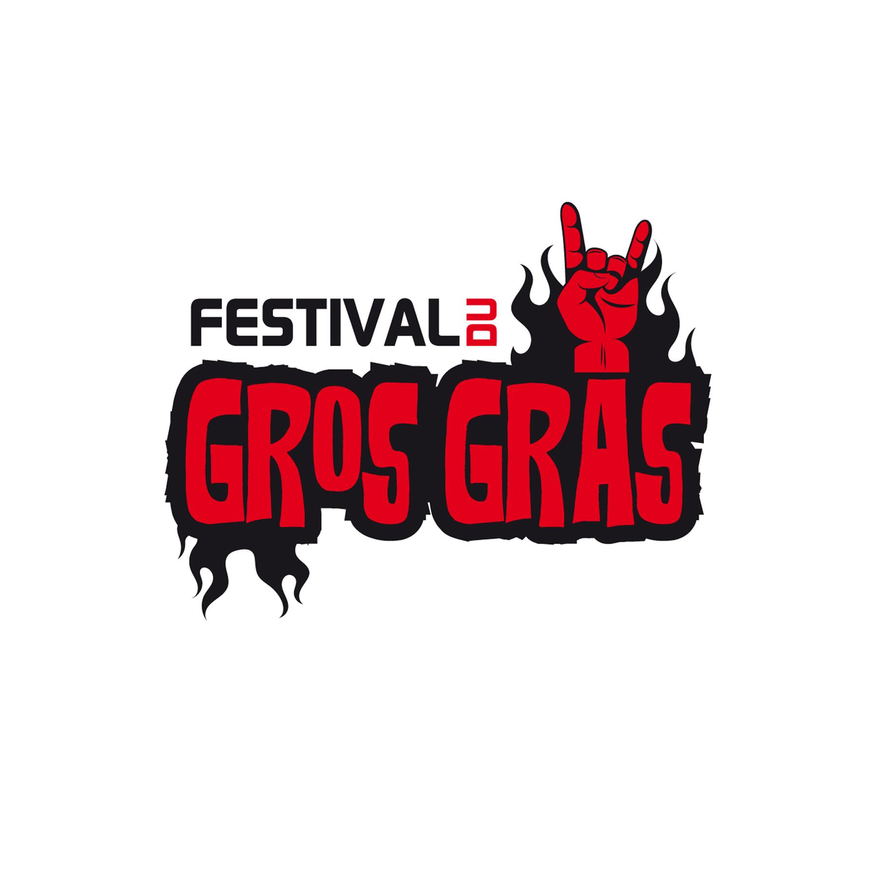 Création du logo Festival du gros gras