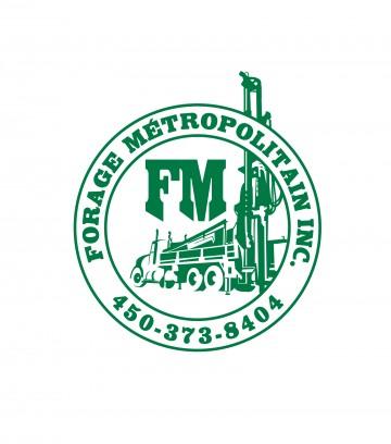 Création du logo Forage Métropolitain Inc.