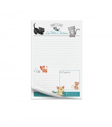 Notepad Les petits chatons