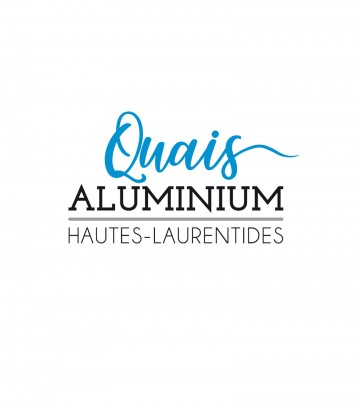 Création du logo Quais Aluminium Hautes-Laurentides