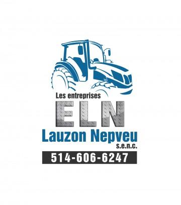 Création du logo Les entreprises ELN Lauzon Nepveu