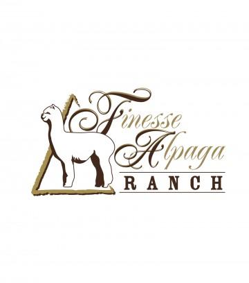 Création du logo Finesse Alpaga Ranch