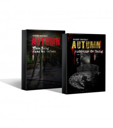 Couverture du roman Automne de sang