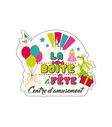 Création du logo La boîte à fête